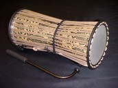 This Talking Drum is a piece of history!