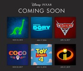 Pixar is still active and will be coming out with many new sequels.