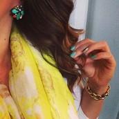 Naomi Cluster Earrings $22 (retail $44)