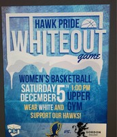 Hawk Pride Whiteout Game