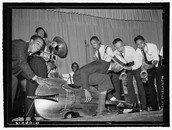 Herman E. Calloway and the Dusky Devastators of the Depression!!!!!! Staring: Bud Caldwell!