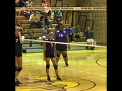 Lady Giants volleyball team took on the Speedway Sparkplugs last week.