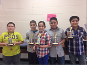 3rd Grade Tri-Mathalon Winners