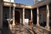 El extirior del museo