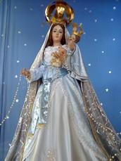 La basilica de Nuestra Señora del Rosario de Chiquinquirá