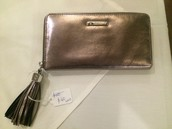 Mercer Wallet- metallic