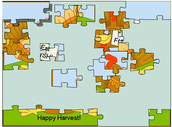 Jigsaw turkey puzzle