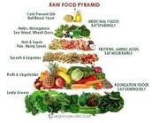 Take a look at the food pyramid.