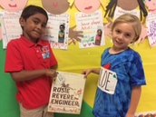 Rosie Revere teaches us to never give up!
