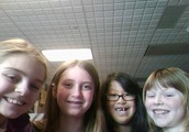 Paige, Sydney, Hailey, Kirstyn