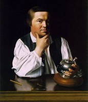 Painting of Paul Revere