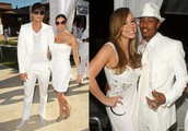 Celebrities Around The World Have Taken Flight with their White Parties