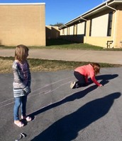 4th Grade learning about shadows!