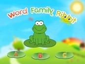 Word Family Ribbit