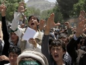 """Afghan Students Rally For """"God-Given Right to Beat Women and Marry Child Brides."""""""