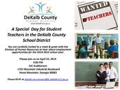 DeKalb Co Teacher Job Fair