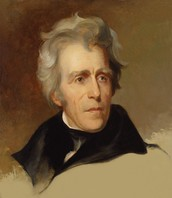 andrew jackson president at the time