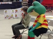 Froggy listens to the story