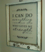 Large Single Pane Bible Verse