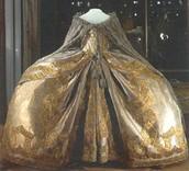The dress Elizaveta wore to her coronation