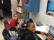 Maraya, Bryce, and Vincent