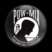 POW/MIA Badge