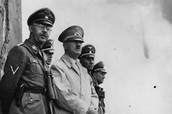 Himmler with Adolf