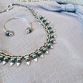 Metallic Wash means Matte Finish Jewellery