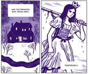"""Mark Zuckerberg says I am Princess X is """"A mysterious web comic!  A MUST read for people in the KNOW!"""""""