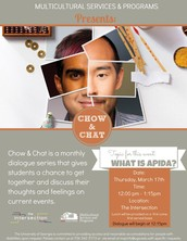 """MSP Chow & Chat: """"What is APIDA?"""""""
