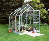 Picture of our greenhouse