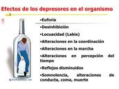Efectos de la droga.