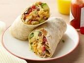 Tortilla breakfast wrap$1.50