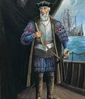 Vasco de Gama on ship
