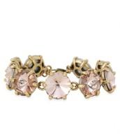 Amelie Sparkle Bracelet - Peach $15