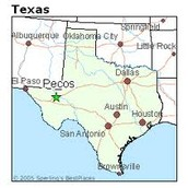 Location of Pecos