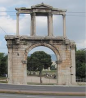The Hadrian's Arch