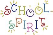 School Spirit Day at Pleasant Street in honor of Superbowl Weekend!
