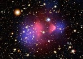 What clues do scientists have that Dark matter exists?