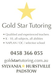 Gold Star Tutoring is Padstow's newest and brightest premium tutoring service for K-10!