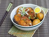 Recipes (Braised Basa Fish With Chicken Egg)
