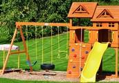 Back-Yard Sand-Box Playground