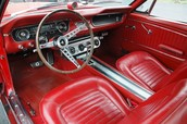 Red Dash With Red Front Seats