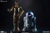 R2-D2 y CP3PO