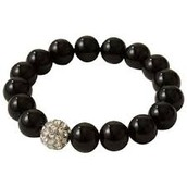 Soiree Pearl Black Pave Bracelet $10.00