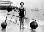 Gertrude Ederle in 1924