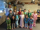 PJ Day for 1st Grade