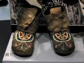 blackfoot's moccasins