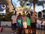 Sea world with the fam
