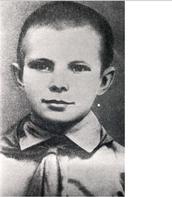Yuri Gagarin's childhood.